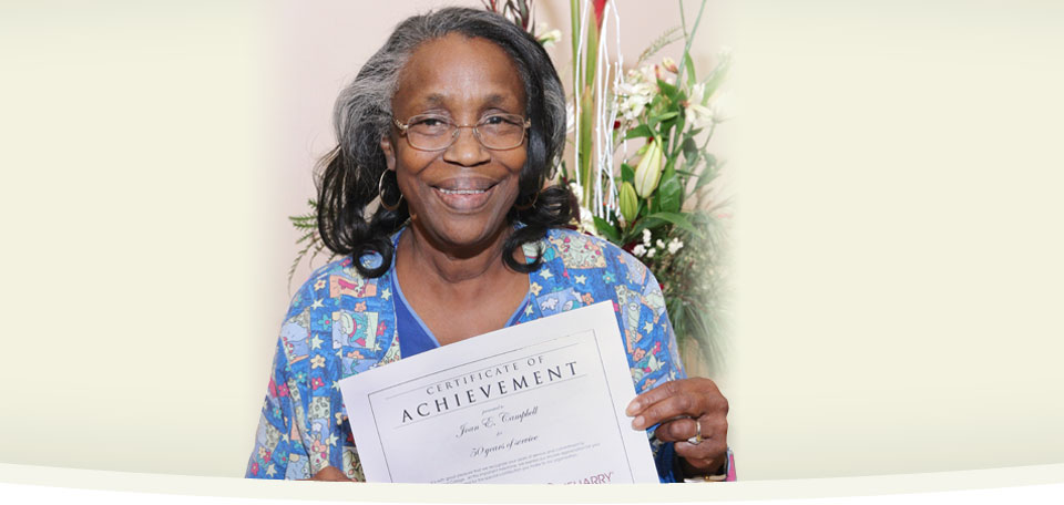 Joan E. Campbell receives honors