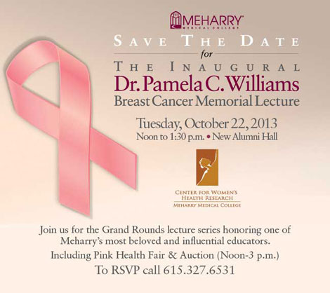 Williams Lecture, Tuesday October 22, 2013