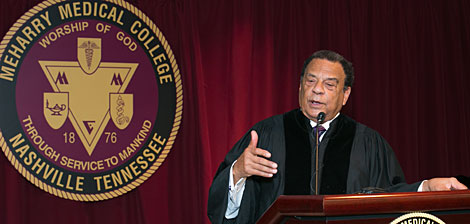 Andrew Young at Convocation