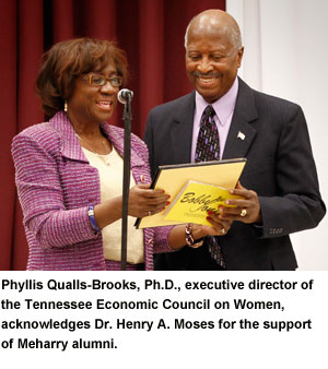 Dr. Moses receives honors