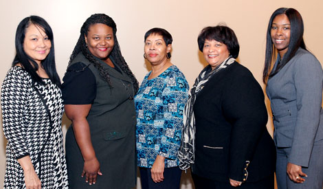 HR reception honorees