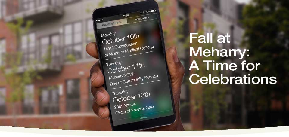 October at Meharry