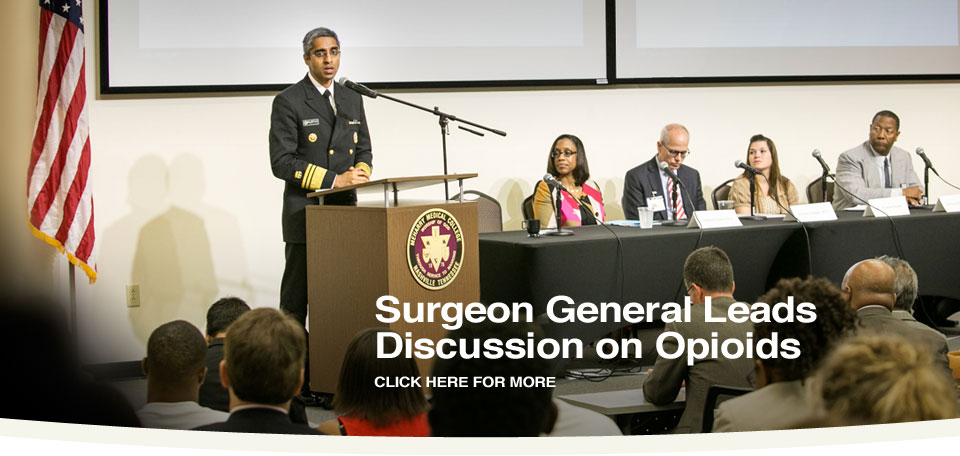 Surgeon General leads discussion on opioids