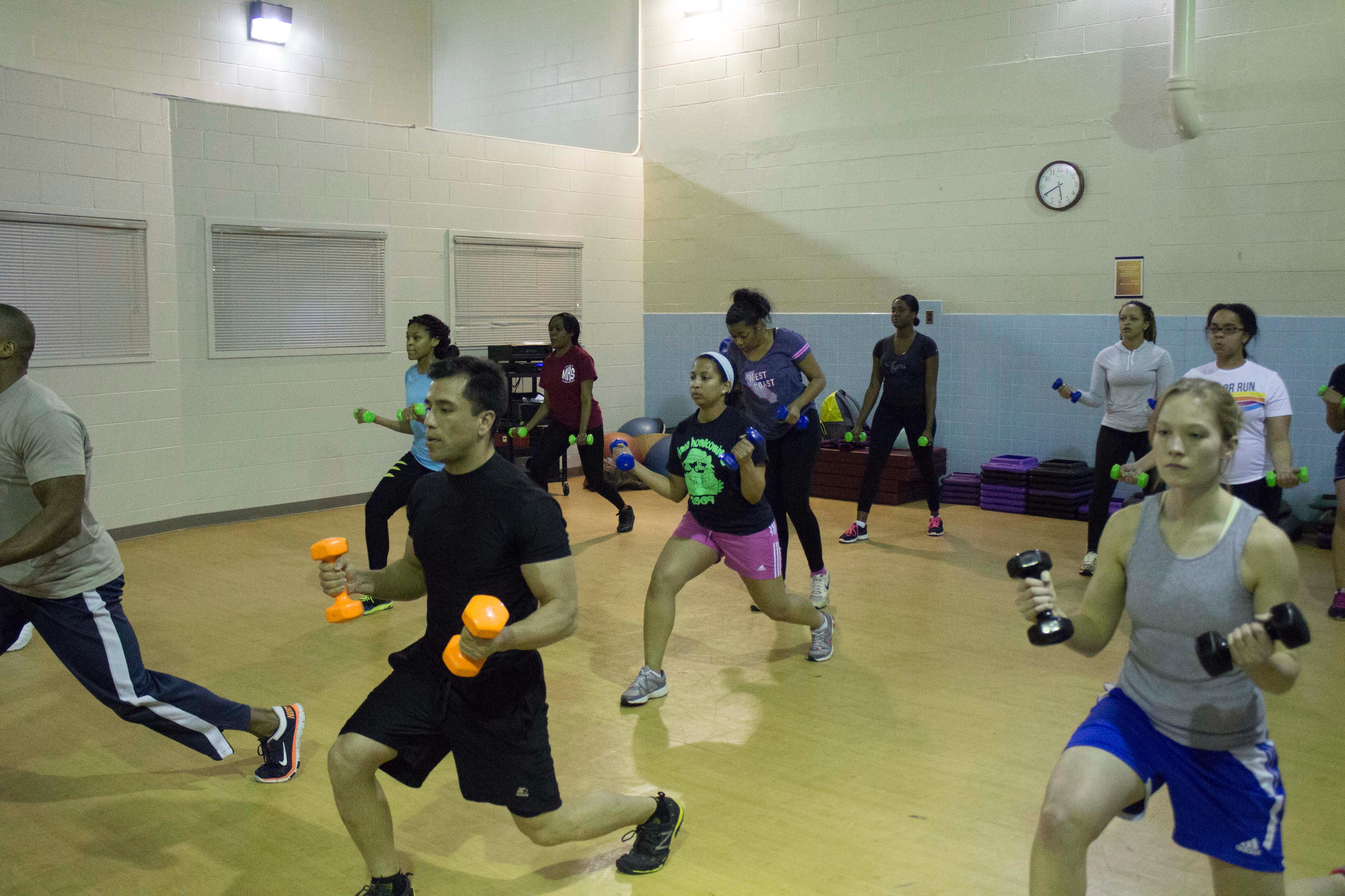Ross Fitness Center Bootcamp