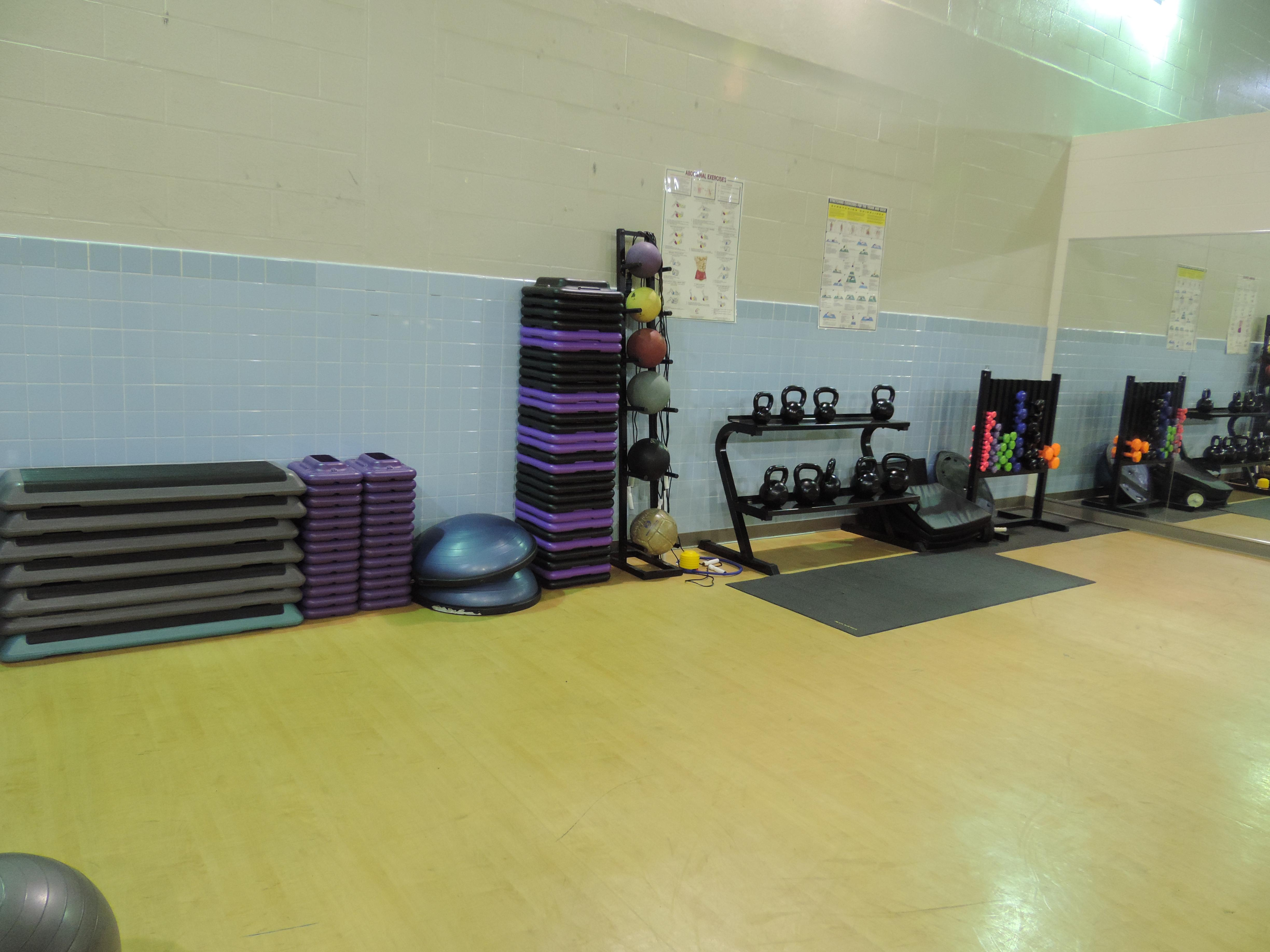 Ross Fitness Center Aerobics Room