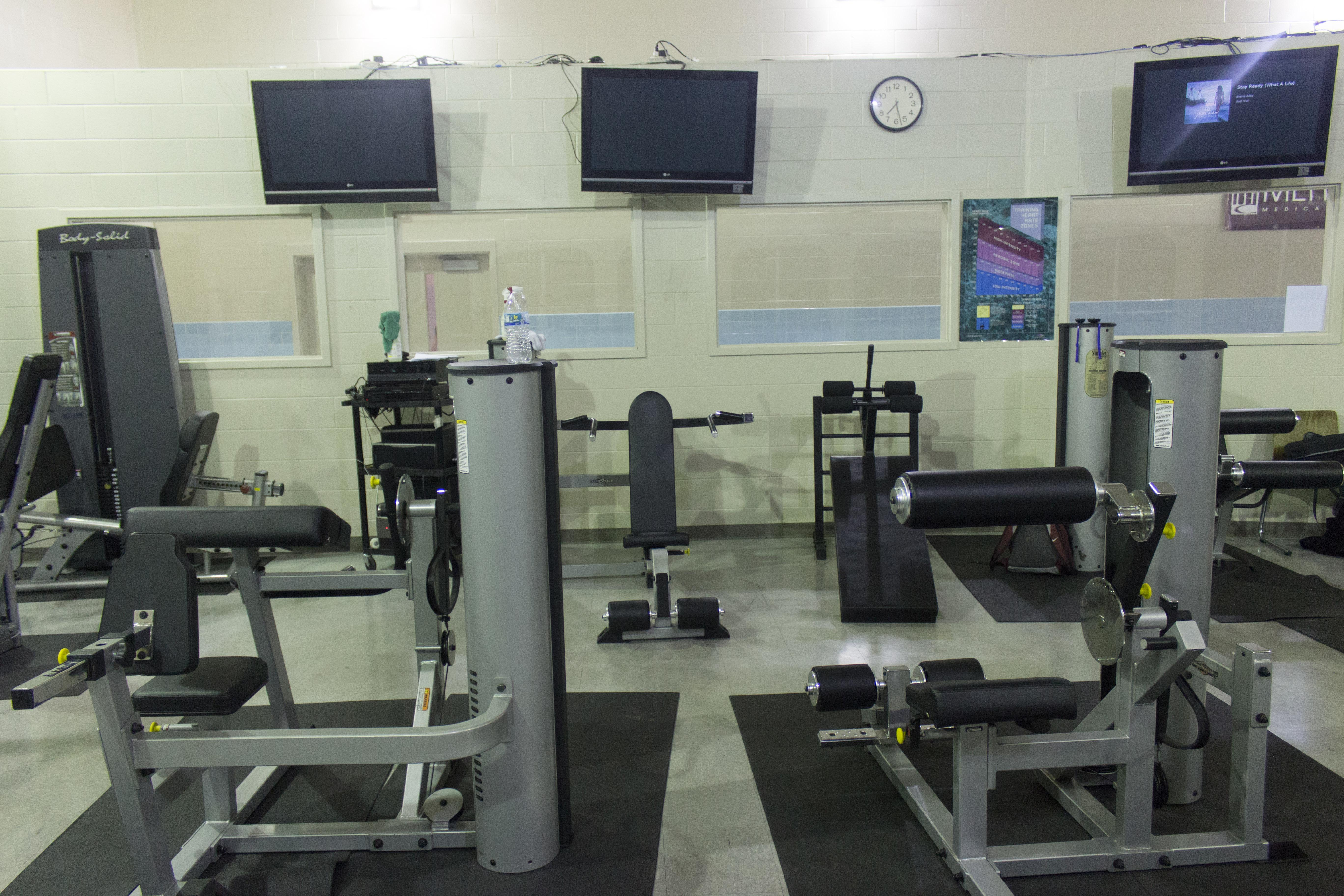 Ross Fitness Center Weight Room - Front