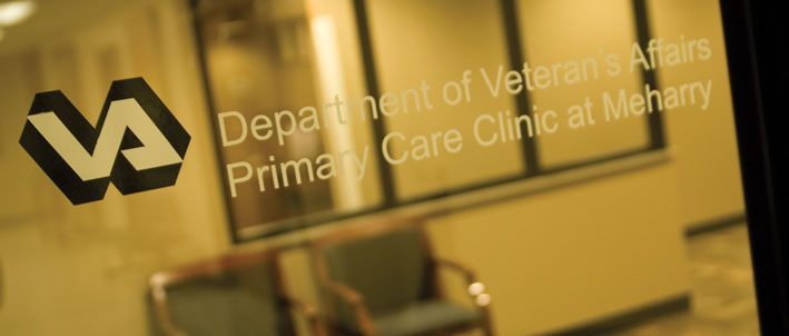VA sign Meharry clinic