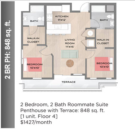 Two Bedroom PH